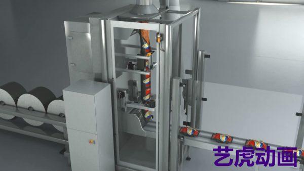 工业机械原理3d设计图